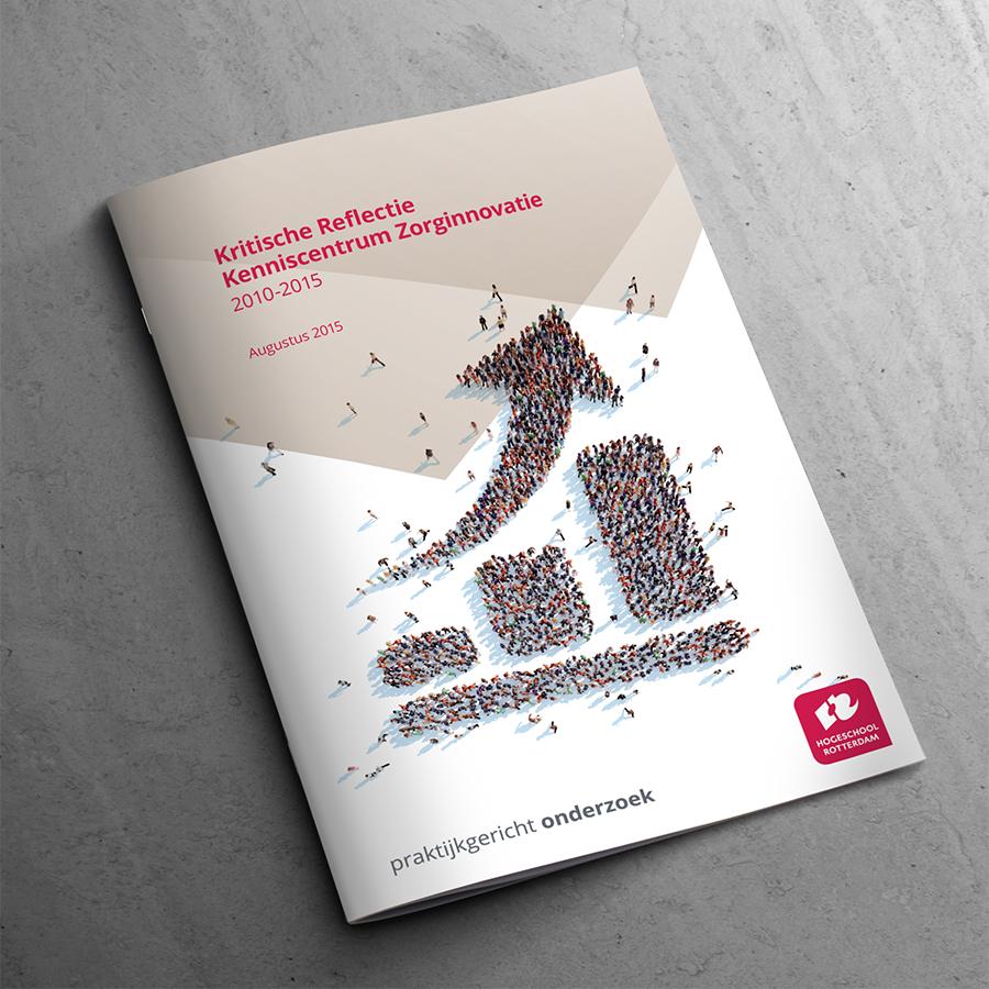 Brochure Kritische reflectie kenniscentrum zorginnovatie