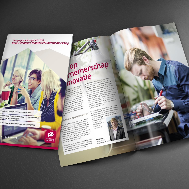Hoogtepuntenmagazine kenniscentrum Innovatief ondernemerschap