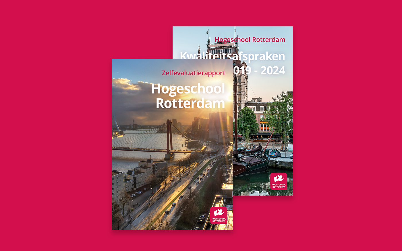 brochure Zelfevaluatierapport Hogeschool Rotterdam